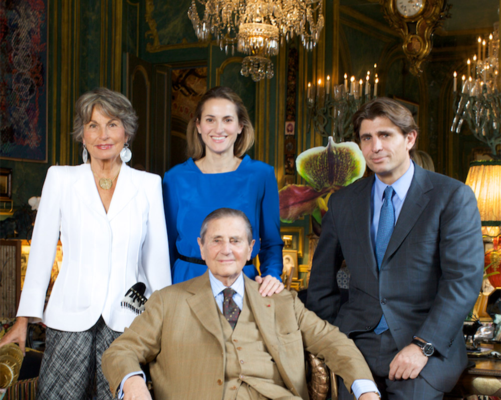 As gerações da família D'ornano